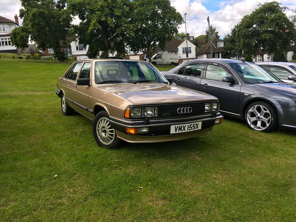 1982 Audi 200 Turbo Automatic 2.2Litre | Spotted this classi… | Flickr
