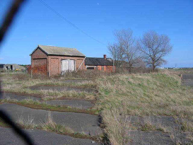 Derelict station at Lydd