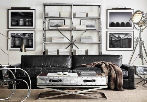 Stylish And Inspiring Industrial Living Room Designs 8 Flickr