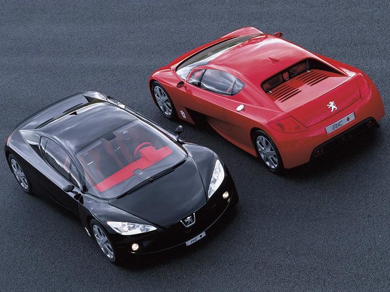 PEUGEOT 2002 RC SPADES & DIAMONDS CONCEPT CARS 001