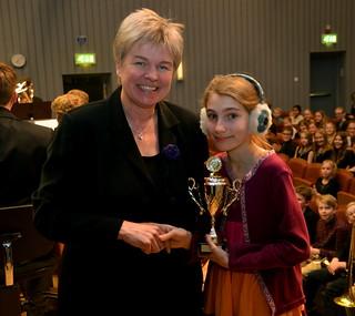 Freja Berglund - Solistprisvinnare i grupp 1
