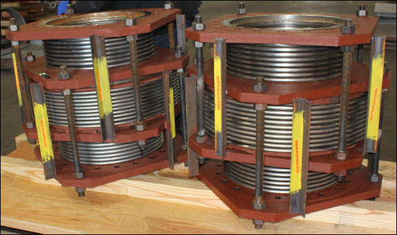 "20"" Dia. Inline Pressure Balanced Expansion Joints Designed for a Pipline in Texas"