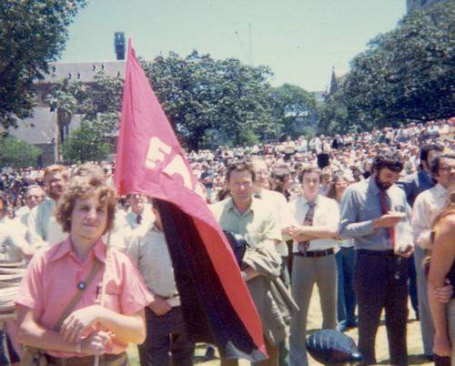 John Englart attends ALP policy launch 24 November 1975 | by John Englart (Takver)