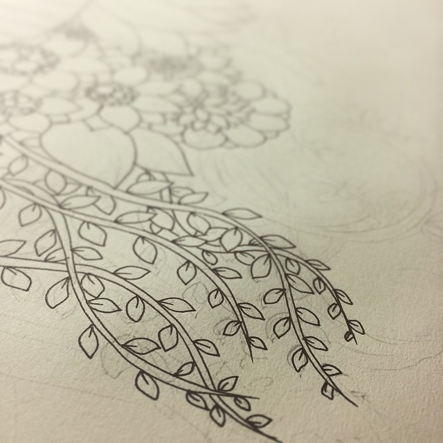 This is a part of my latest illustration