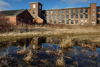 they're closing down the textile mill   by Port View