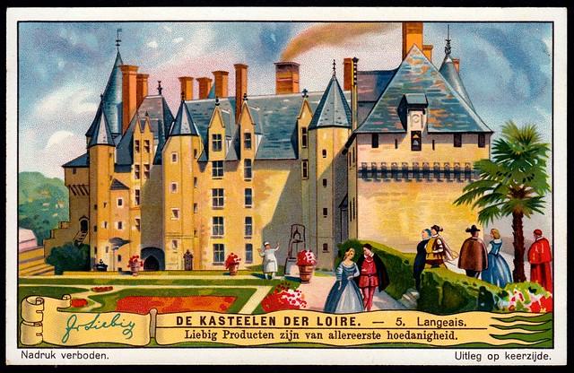 Liebig Tradecard S1272 - Château de Langeais