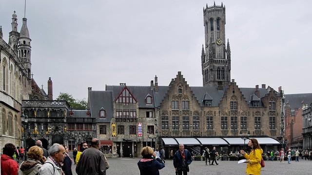 Plaza Burg  (Brujas)