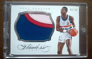 2013-14 Panini Flawless Patches #85 Alex English /20 | by milkowski.pawel