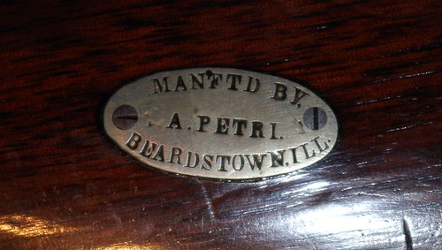Made By A. Petri, Beardstown, Illinois