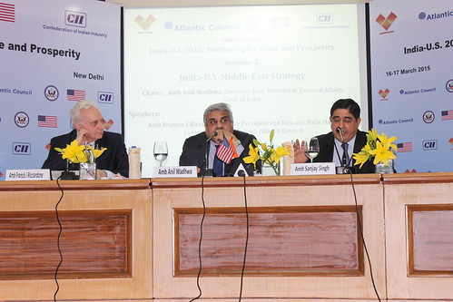 India-US Middle East Strategy discussion