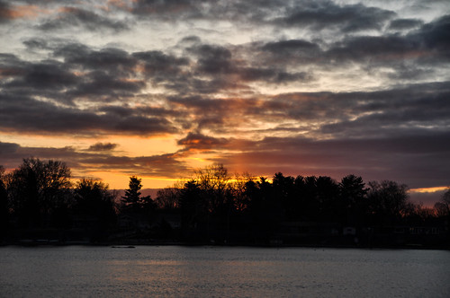sun clouds sunrise dawn flickr indiana elkhart stjosephriver