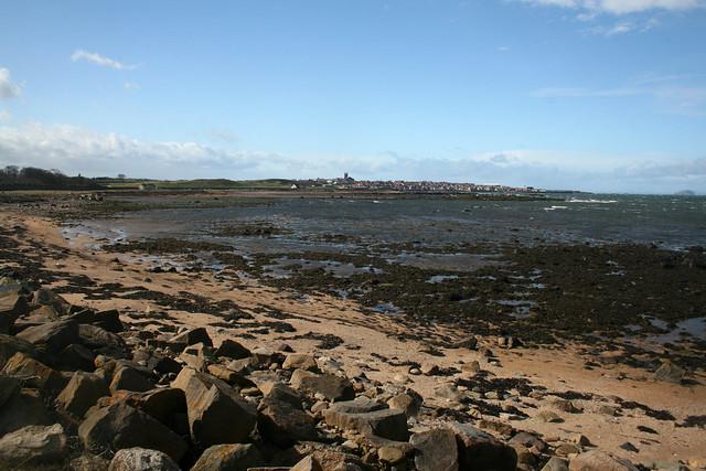 The coast near Dunbar