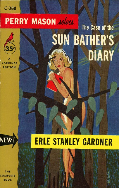 Cardinal Books C-268 - Erle Stanley Gardner - The Case of the Sun Bather's Diary