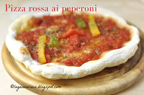 pizza rossa ai peperoni | by mammadaia