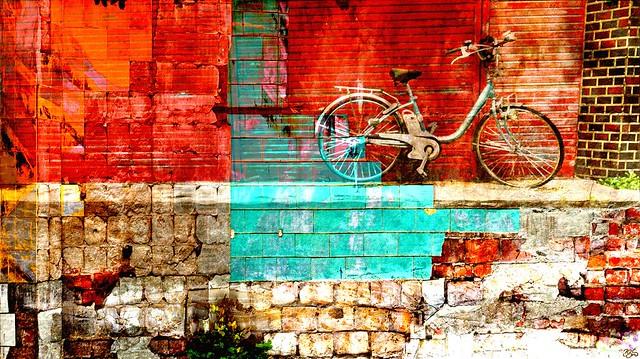 Bike on the block
