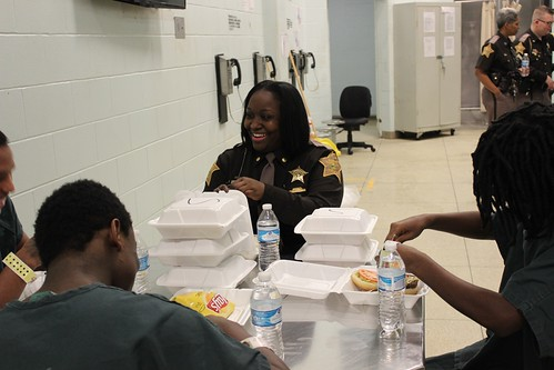 8842: Laughing with Juvenile Inmates | by NationalSheriff