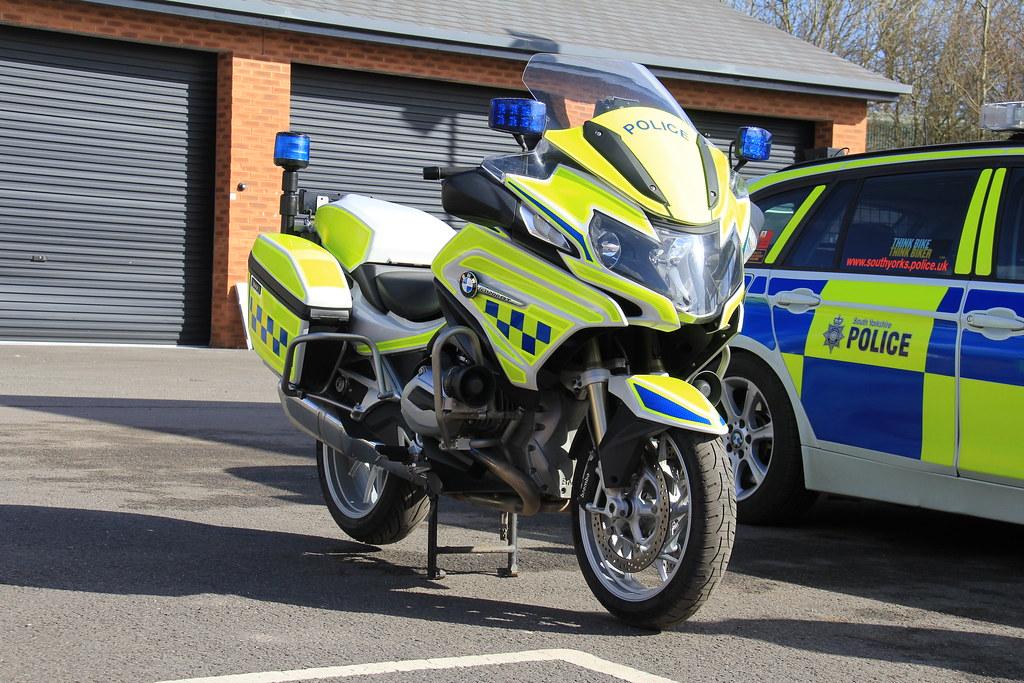 South Yorkshire Police Bmw R1200rt Demonstrator Roads Poli Flickr