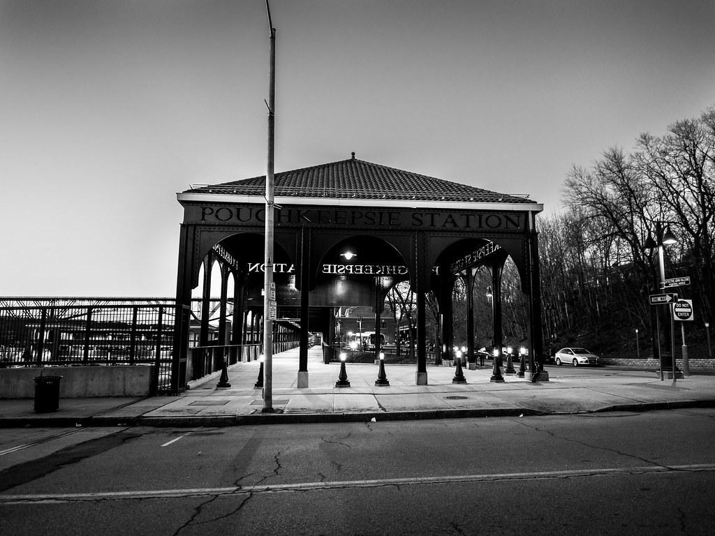 Exterior: Poughkeepsie Train Station. Olympus 12mm F2