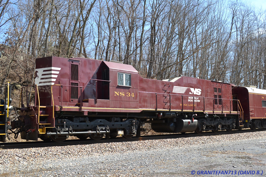 NS 34 Research Car | Trucks, Buses, & Trains by