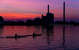 Copenhagen sunset - Kayaks on their way | by Thomas Rousing Photography