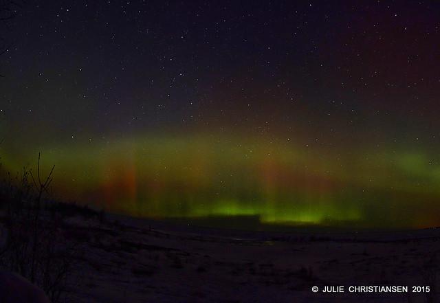 Northern Lights  10 PM