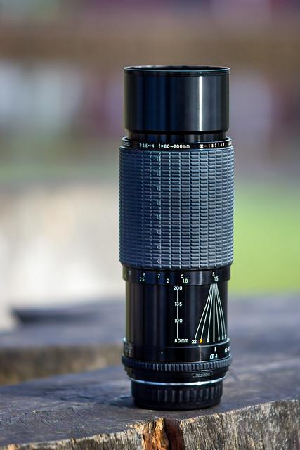 Sigma 80~200mm ƒ/3.5~4 High Speed Zoom [C/Y]
