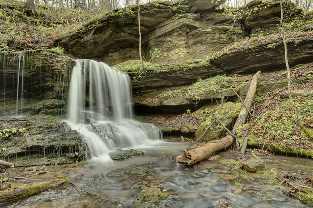 Wet Cave falls, White County, Tennessee 3