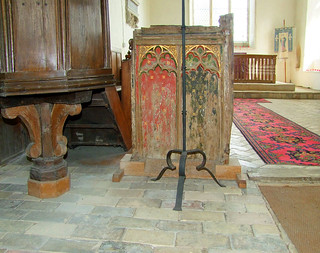 rood screen remnant