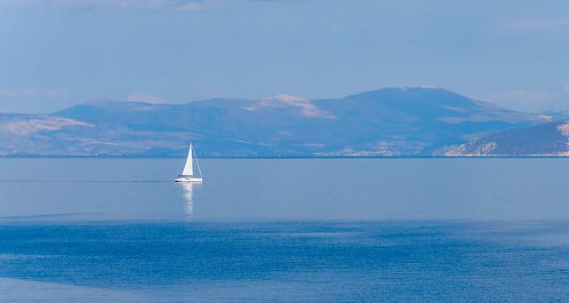 Aegean hazy blue