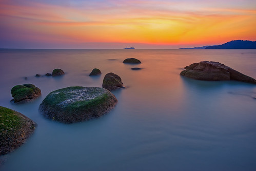 ... peaceful of the day | Sunset | by Keris Tuah