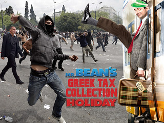 MR BEAN'S GREEK TAX COLLECTION HOLIDAY | by WilliamBanzai7/Colonel Flick