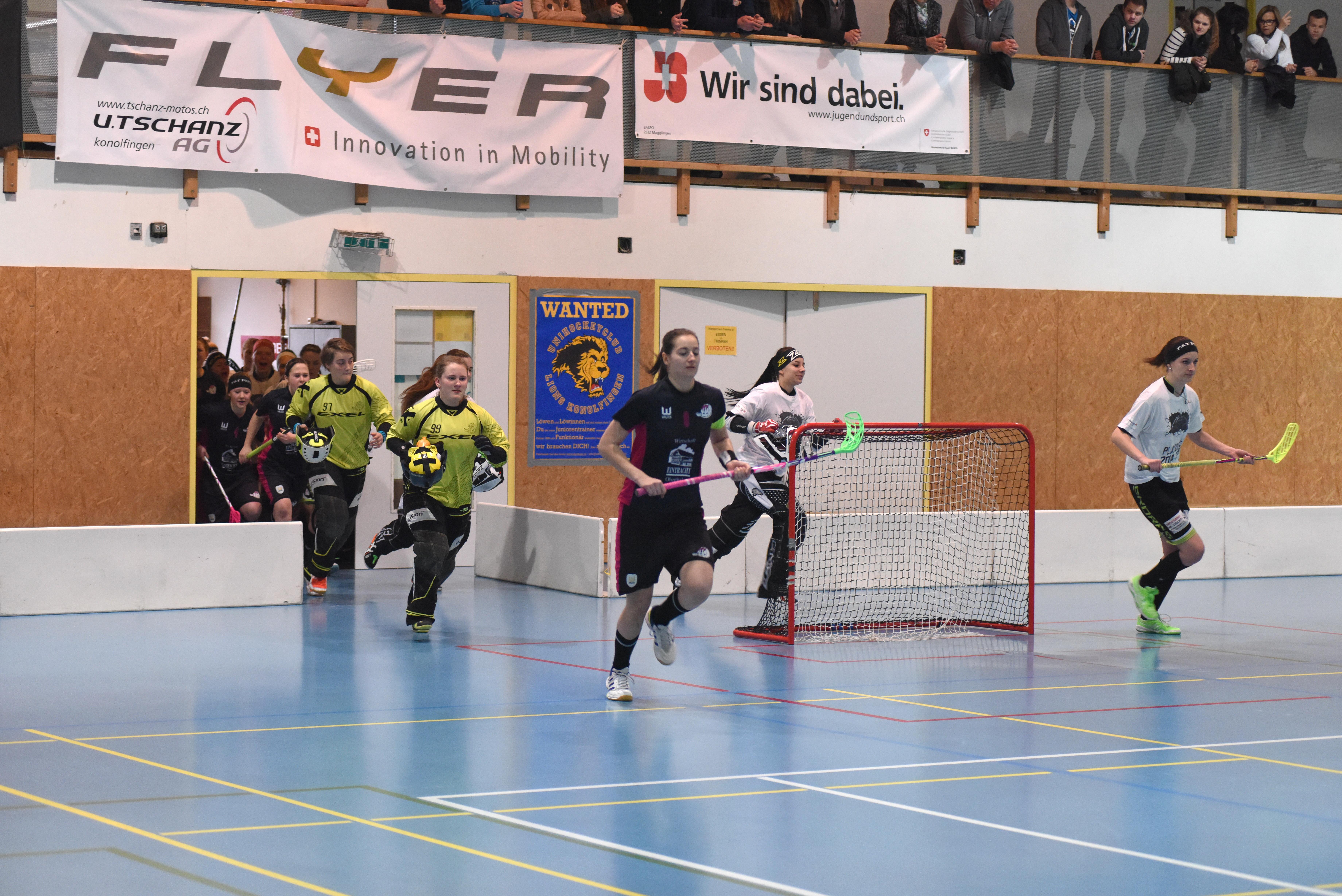 Playoff Halbfinal UH Lejon Zäziwil