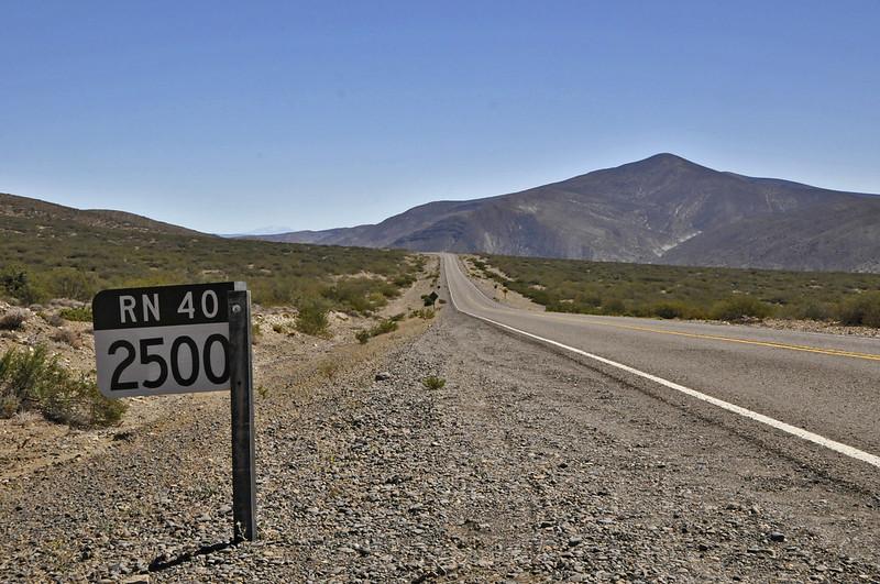 Km 2500 RN 40 - Argentina