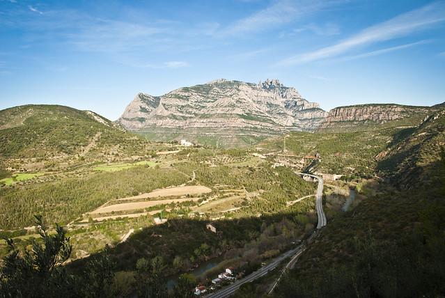 Riu Llobregat i Muntanya de Montserrat