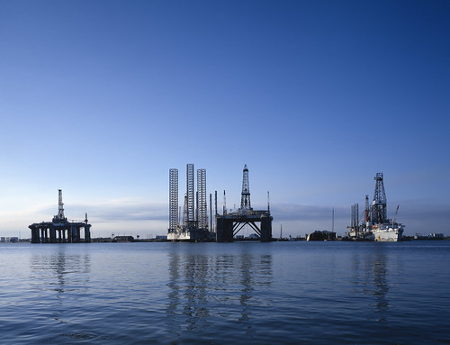 Oil rigs, Galveston, Texas | by US Department of State