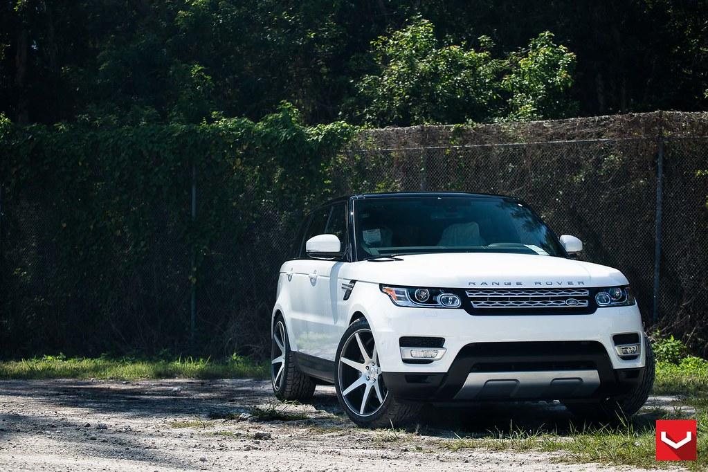 Warren Henry Range Rover >> Land Rover Range Rover Sport 22 Vossen Cv7 Matte Graphi