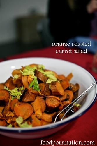 London Food Blog - Startisans, Covent Garden - Tasting Room, orange roasted carrot salad | by Priscilla @ Food Porn Nation