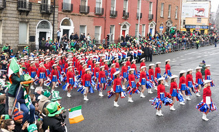 KILGORE COLLEGE RANGERETTES AT THE ST. PATRICKS'S DAY PARADE [2015] REF-1022592   by infomatique