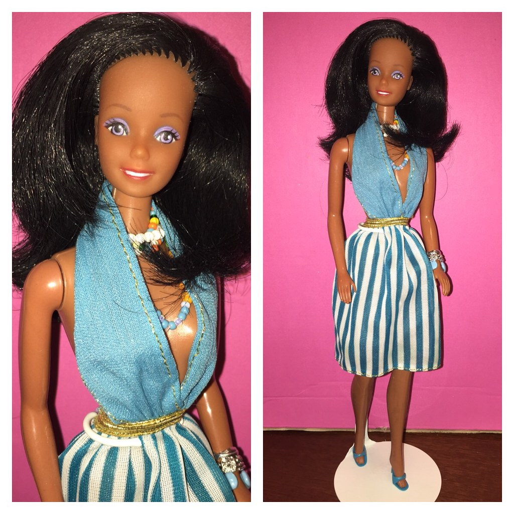 Barbie Para Vestir Negra Rotoplast Venezuela Fashion Play