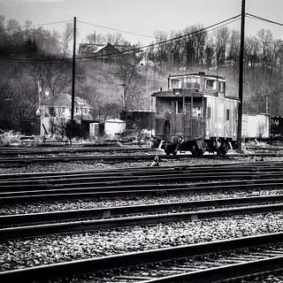 Railroad Yard, Radford