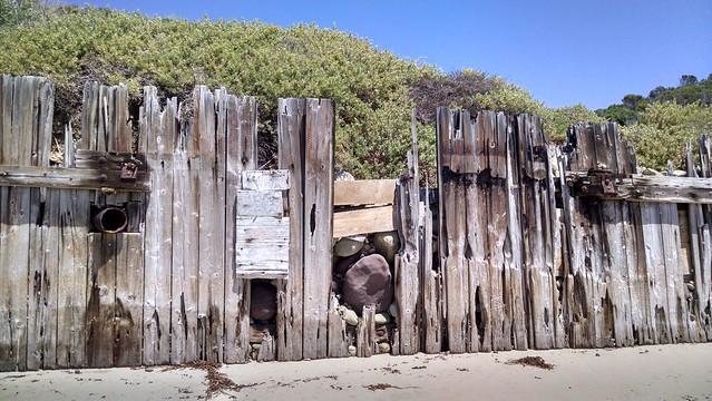 IMG_20150414_132818828_HDR wood piers eroding at short venoco piers goleta sandpiper bacara beach