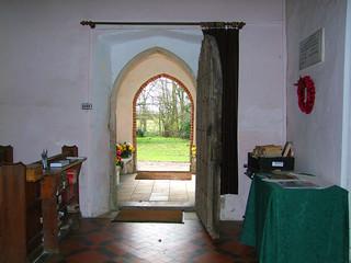 south doorway