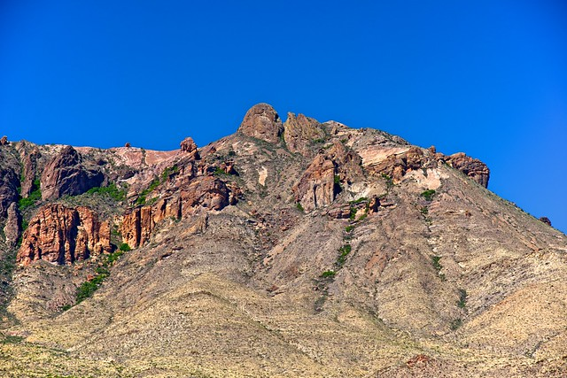 Jagged and Rugged Peaks (Big Bend National Park)