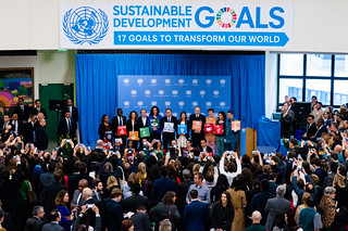 We are all for Global Goals