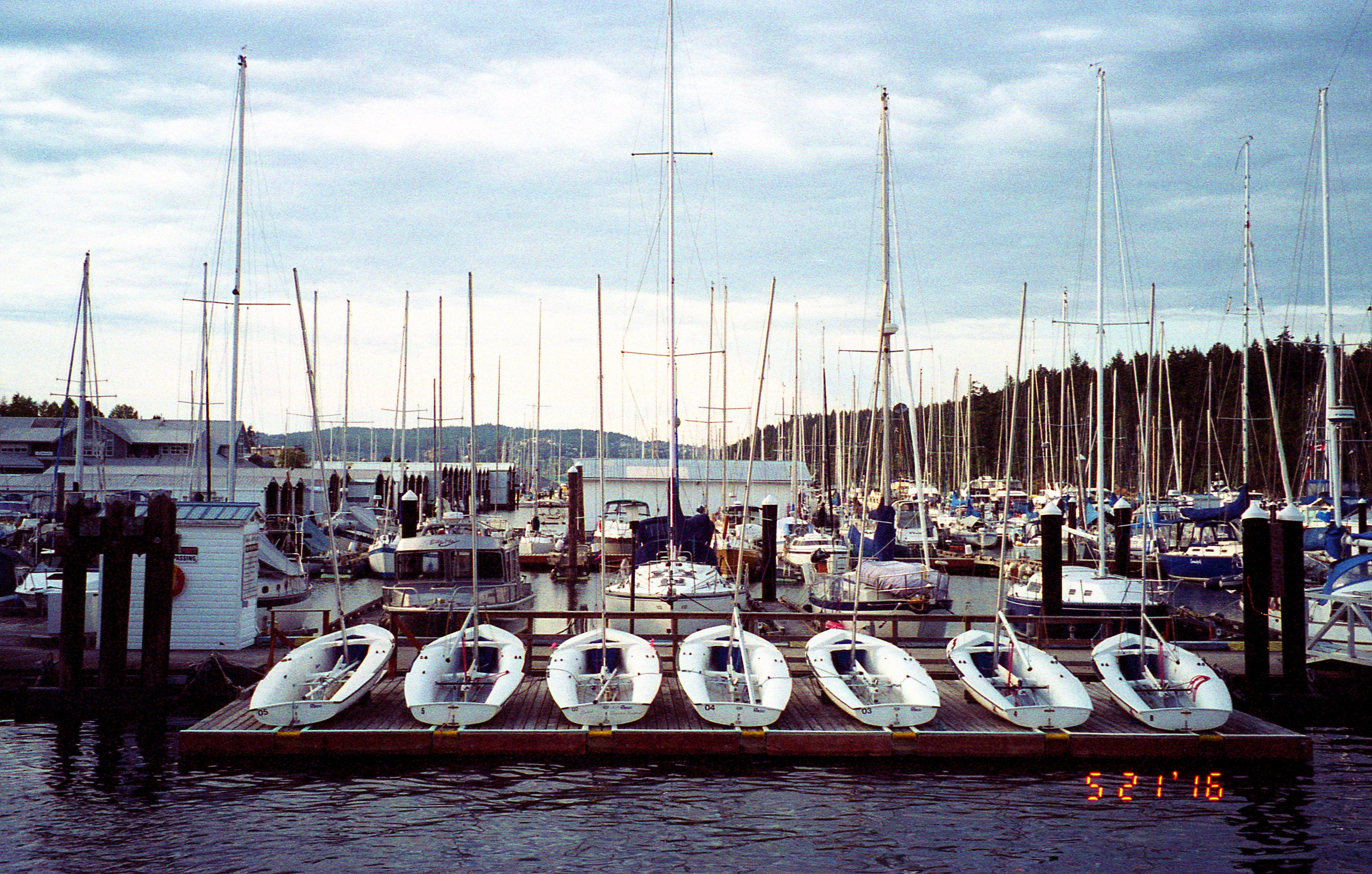 Nanaimo Yacht Club Youth Sailing Program - Konica Z-up 80 Super Zoom (1988) with 9-year expired Kodak ISO 200 Film (Expired 2007)