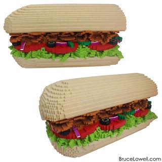 LEGO Subway Sandwich Meal | by bruceywan