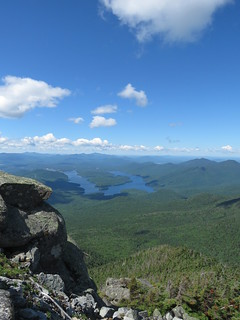 Lake Placid viewed from Whiteface Mountain | by Justin Lee (NoNameKey)