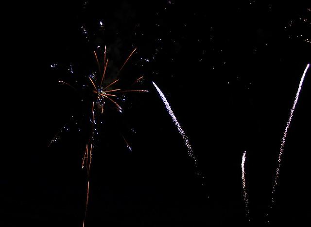 Feu d'artifice - 14 Juillet 2016 - Cabourg