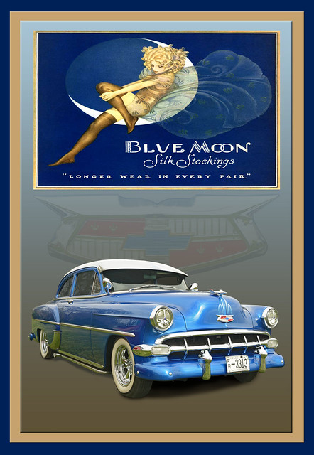 1954 Chevy - Blue Moon Silk Stockings