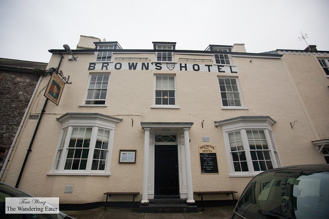 Brown's Hotel, a watering hole for Dylan Thomas